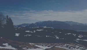 Kaisergebirge im Frühling