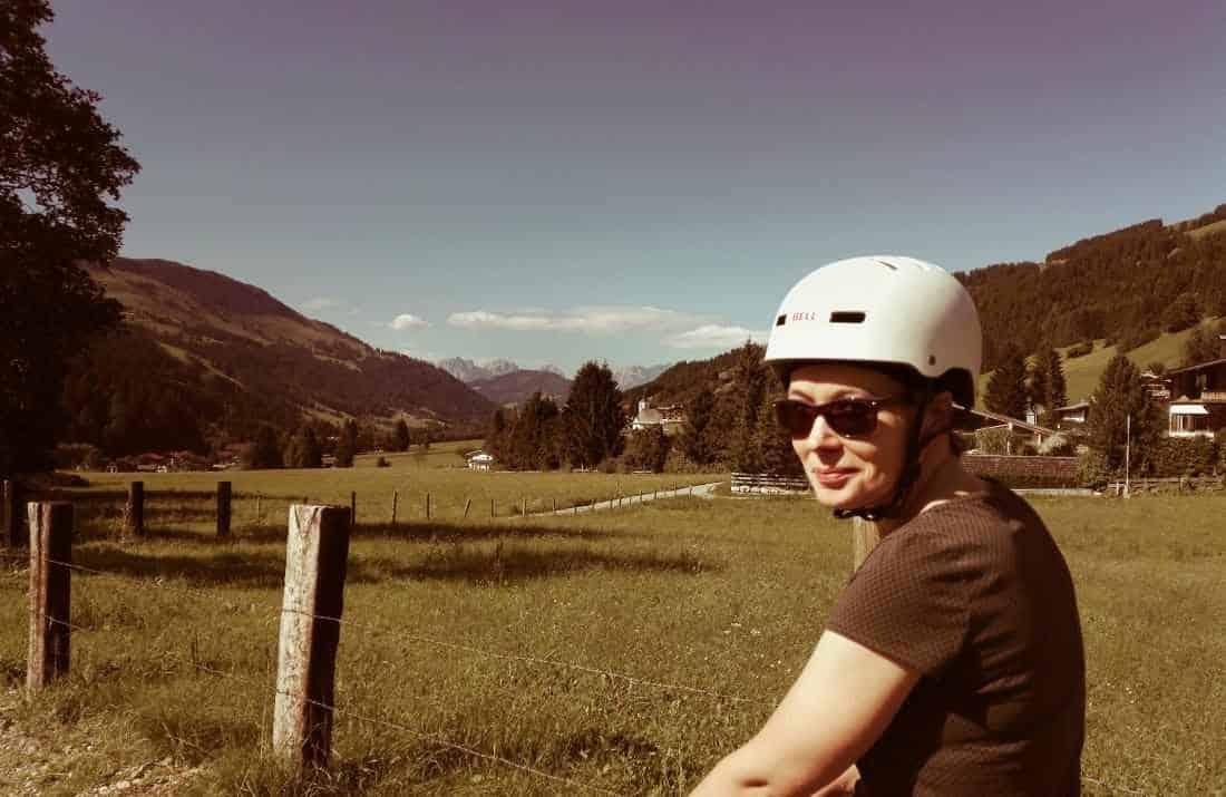 Segway Fahrer auf Kasplatzl Tour in Kirchberg