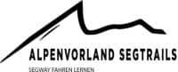 Logo alpenvorland segtrails schwarz auf weiß