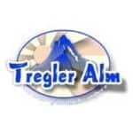 blaues Logo von der Tregler Alm in Bad Feilnbach