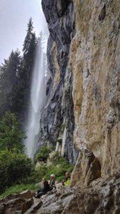 Wasserfall und Feilsen