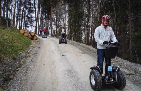 Offroad Segway Fahrer