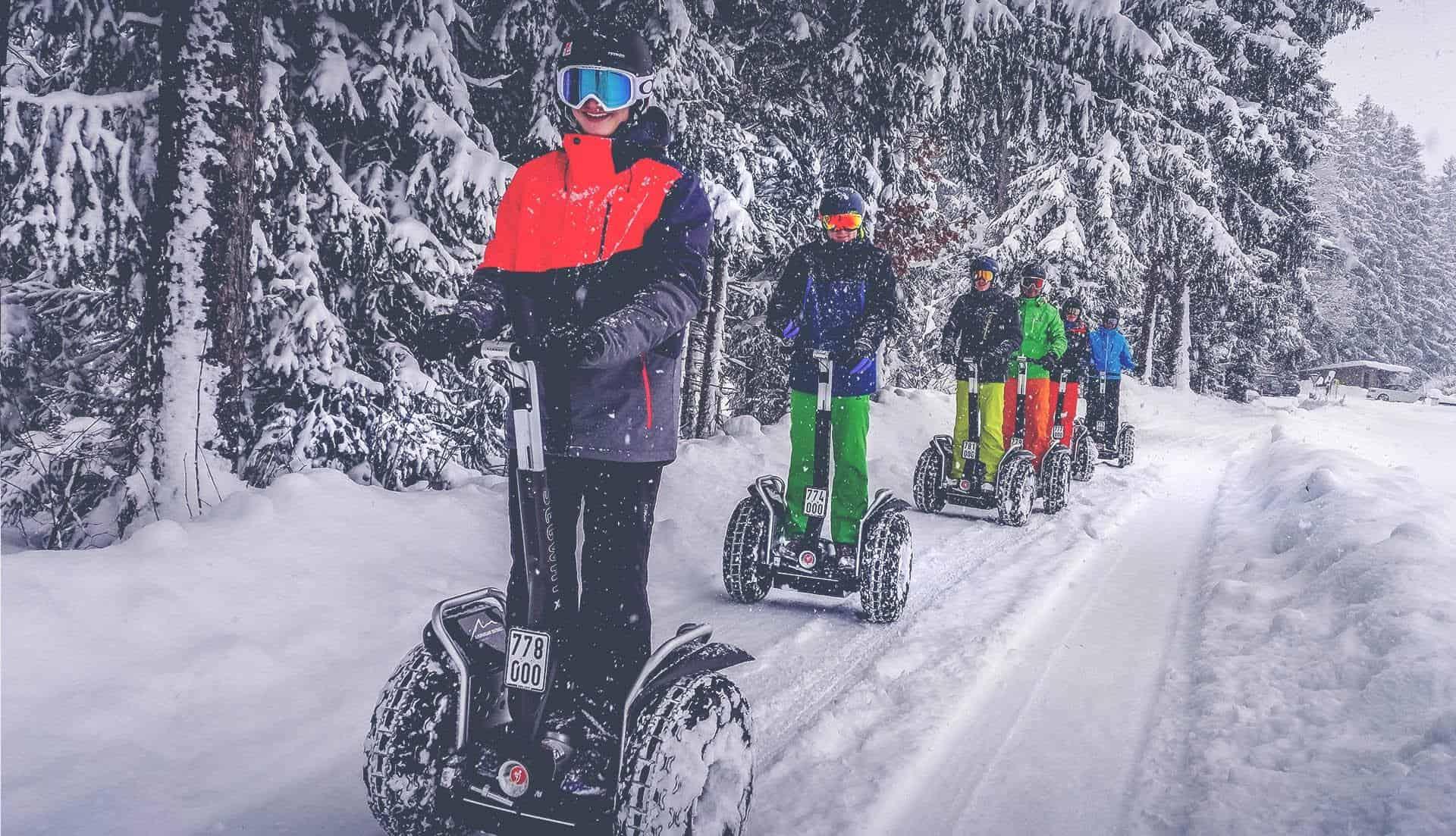 Schneeketten Segway Event