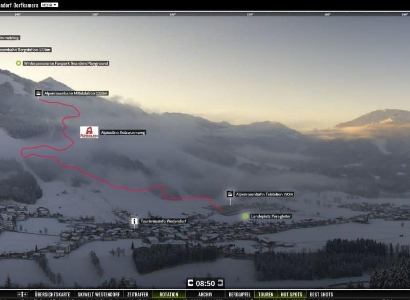 Screenshot Skiwelt Westendorf