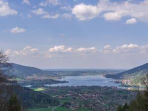 Tegernsee Panoramaaufnahme